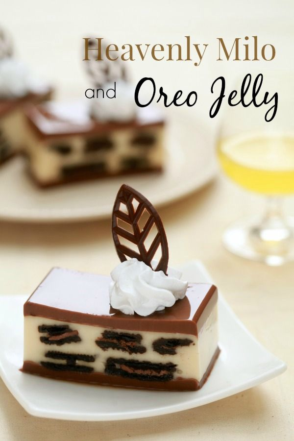 masam manis: Heavenly Milo and Oreo Jelly