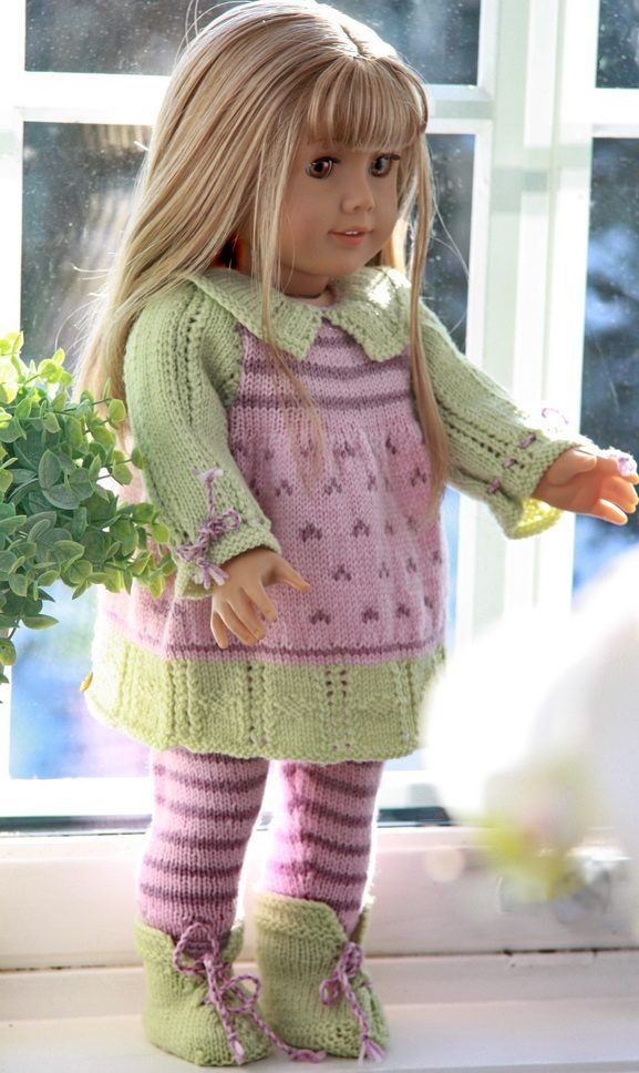 The 10 best images about 18 inch doll knitting patterns on Pinterest