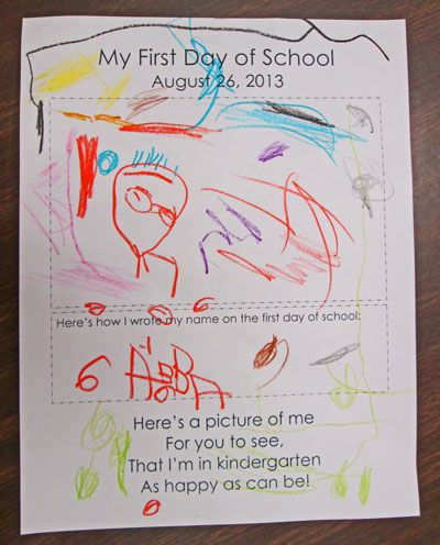 first day of school crafts for preschool day worksheets for kindergarten 1000 images about 105