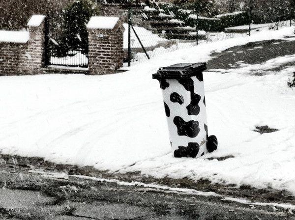 """Sticker """"La vache qui tâche"""""""