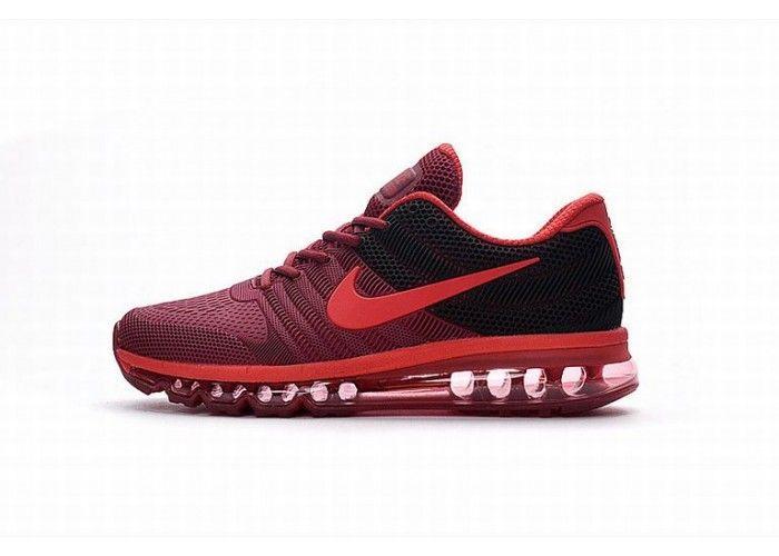 Herren Schuh Nike Air Max 2017 Dark Rot Schwarz Nikeairmax2017 Nike Air Max Nike Air Nike Shoe Store