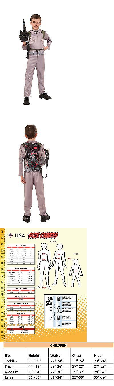 Kids Costumes: Rubies Costume Kids Classic Ghostbusters Costume, Large BUY IT NOW ONLY: $34.18