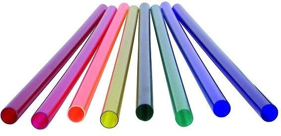 Pink color filter 119cm for T8 neon tube