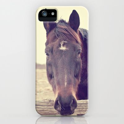 Hello Horse  iPhone Case by Laura Ruth  - $35.00