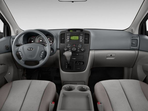 2014 Kia Sedona Luxury dashboard 600x450 2014 Kia Sedona Performance, Safety, Features, Full Reviews
