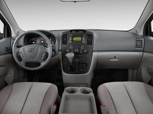2014 Kia Sedona Luxury dashboard 600x450 2014 Kia Sedona Performance, Safety, Features, Full Reviews