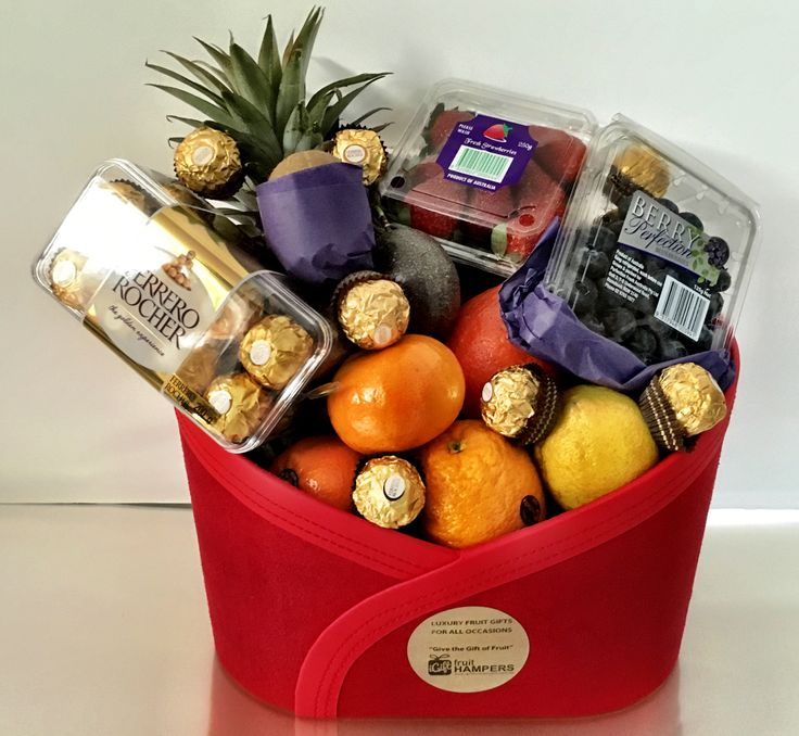 21 best fruit hamper gifts australia images on pinterest fruit fruit basket negle Images