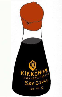 kikkoman soy sauce by soldier jane, via Flickr