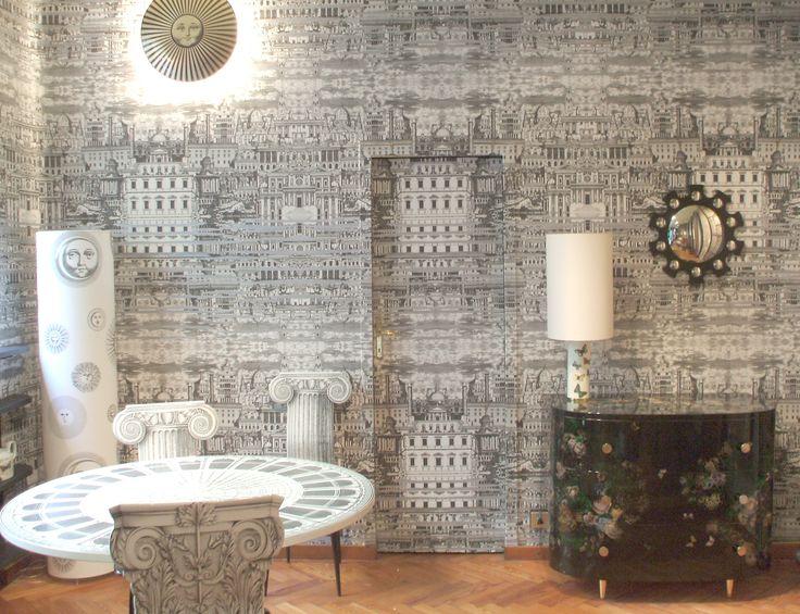 Wallpapers, Cole Sons, Fornasetti Ceramic, Wallpaper, Fornasetti ...