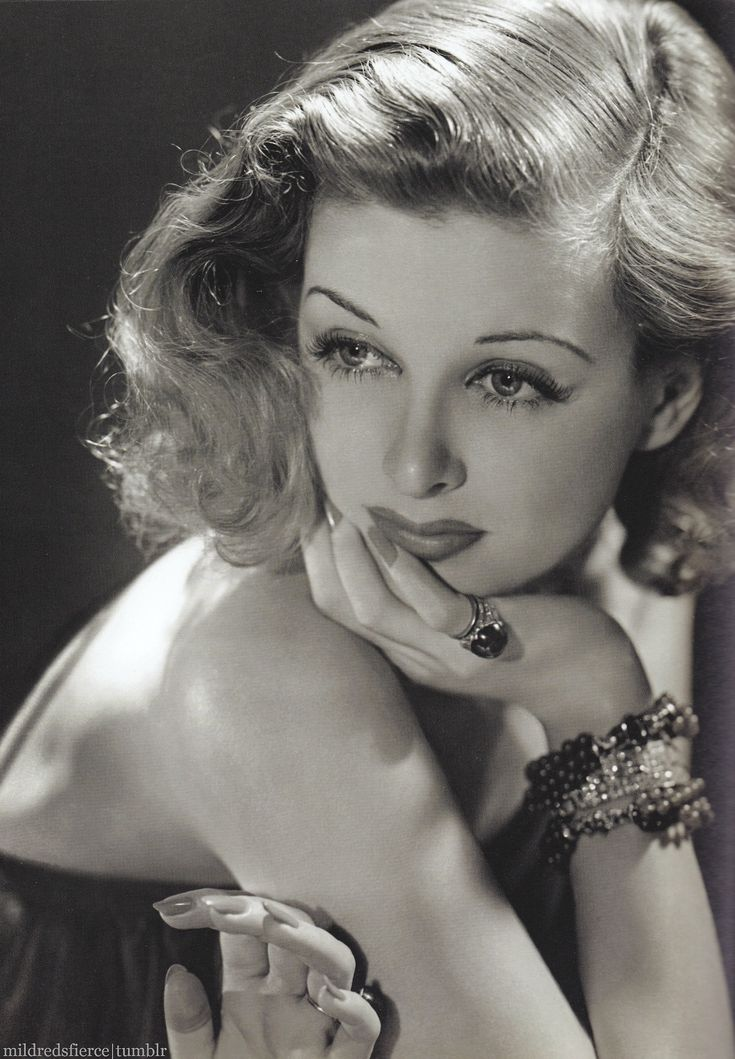 Joan Bennett by George Hurrell.