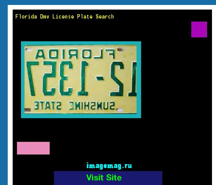 Florida dmv license plate search 143429 - The Best Image Search