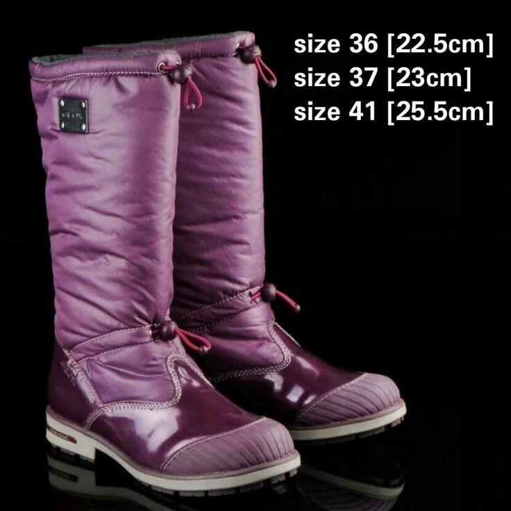 READY STOCK KIDS/WOMAN WINTER BOOTS KODE : MERCY PINK Size 36,37,41 PRICE : Rp.450.000,- AVAILABLE SIZE (insole) : - Size 36 (22,5cm) - Size 37 (23cm) - Size 41 (25,5cm)  Material : Parachute mix Glossy leather, Dalam bahan wol hangat, Sol karet lentur. Ada 2 tali pengencang di bagian lekukan kaki dan pada bagian atas betis. Nyaman dan tidak berat utk anak-anak maupun dewasa :)   Insole = panjang sol dalam. Ukurlah panjang telapak kaki anak, beri jarak minimal 1,5cm dari insole, utk dewasa…