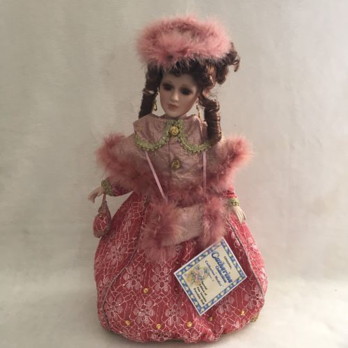 Lot-2-Catherine-Medici-17-034-Victorian-Porcelain-Dolls-Series-3-w-COA