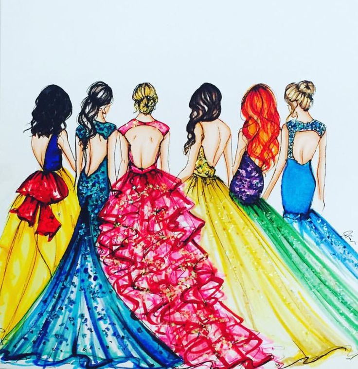'Which Disney princess are you? Snow White, Jasmine, Aurora, Belle, Ariel or Cinderella...' @melsysillustration| Be Inspirational ❥|Mz. Manerz: Being well dressed is a beautiful form of confidence, happiness & politeness