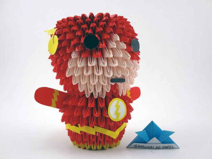 Origami 3D - The Flash