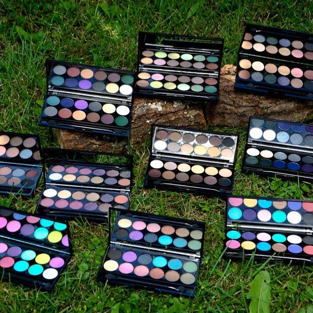 Amazing pigmented eyeshadow palette by Sleek  #makeup#color#sleek#palette#befabulous#nice#beuty#England