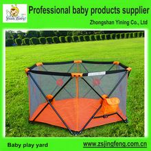 Fabrica venta caliente portable bebé parque infantil con astm f406, pop up bebé corralito, seguridad pop up bebé parque infantil