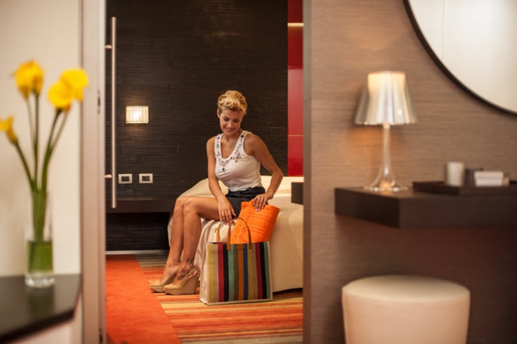 A moment of relaxation in one of our suites...enojy!