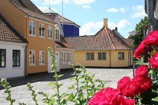 La casa natale- Museo di  Hans Christian Andersen, a Odense, Danimarca