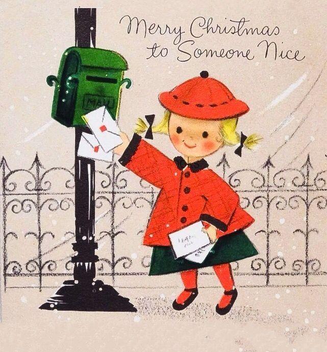 Cartões e desenhos fofíssimos de Natal <3