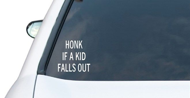 Funny Car Decals | 20 Options!