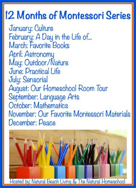 12 Months of Montessori Education and Activities, Practical Life, Culture, Peace, Sensorial, Homeschooling, Mathematics, and so much more.