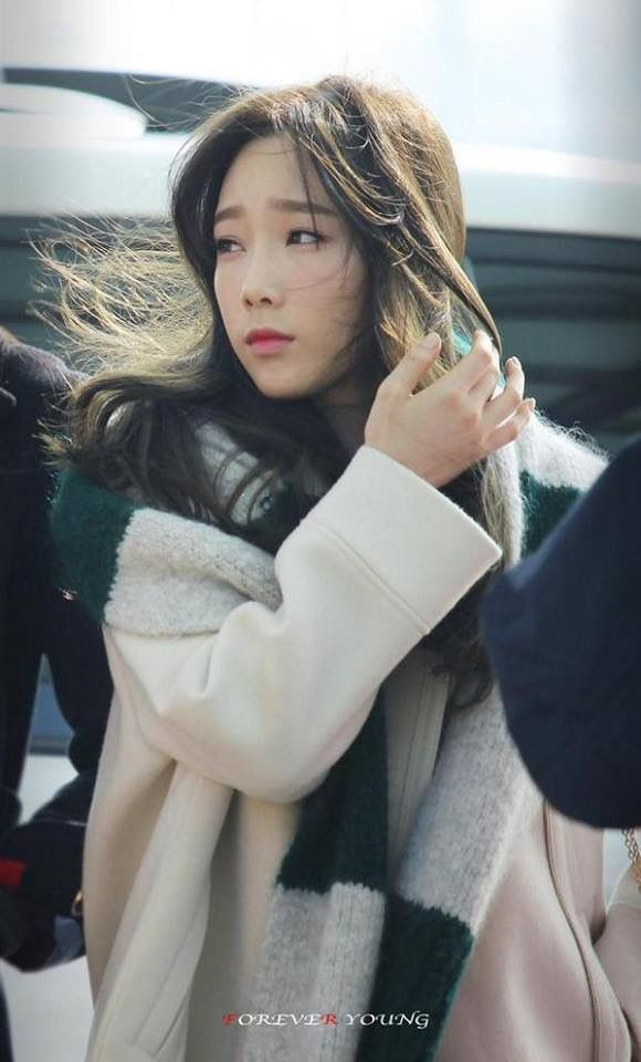 Taeyeon SNSD Airport Fashion