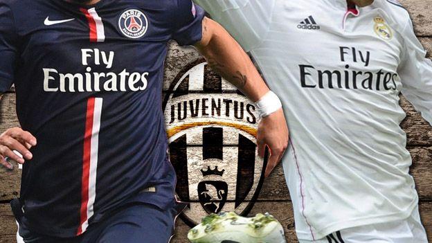 Juventus entre dos delanteros del PSG y Real Madrid #Depor