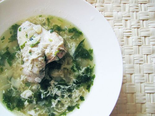 Chikhirtma (chicken-cilantro soup): Recipe and photo by Armine of 'Taste of my memories' blog #recipe #soup #chicken