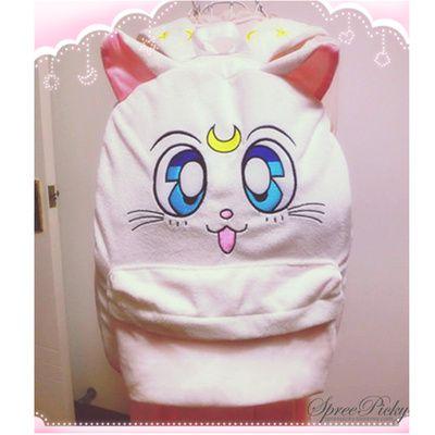 sailor moon artemis cat  Super Cute Sailor Moon White