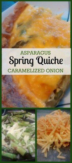 Asparagus Spring Quiche #quicherecipes #asparagusquicherecipes # ...