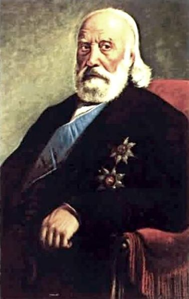 Constantine Kanaris or Canaris (Greek: Κωνσταντίνος Κανάρης) (1793 or 1795 – September 2, 1877) was a Greek Prime Minister, admiral and politician who in his youth was a freedom fighter in the Greek War of Independence.[