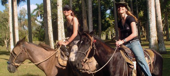 Cayo Santa Maria Cuba Horseback riding is also included, the trip starts from the waterfall and takes about 10 minutes but is quite fun and you can let the kids g...