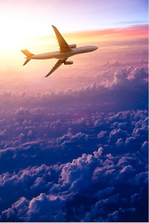 Flying Plane With Clouds from $34.99   www.wallartprints.com.au #TransportPictures