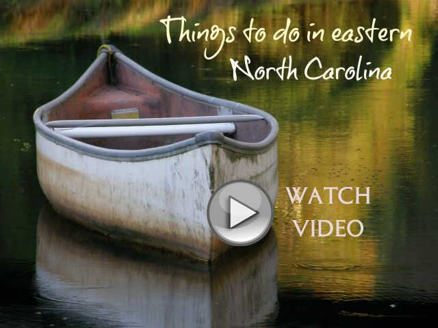 Definitely repin this wonderful video of fun things to do in Eastern NC. If you like history, canoeing, fishing, eating at mom and pop diners and dives -- and so much more. Eastern NC is full of beauty and memories in the making.  |  chloesblog.com