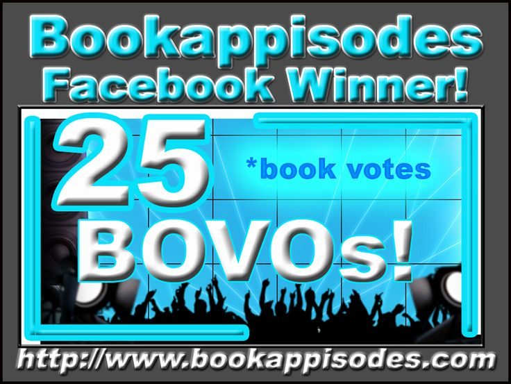 Congratulations to Serena P.  our May #BOVO winner! Like the #Bookappisodes #Facebook page and get in the next draw!