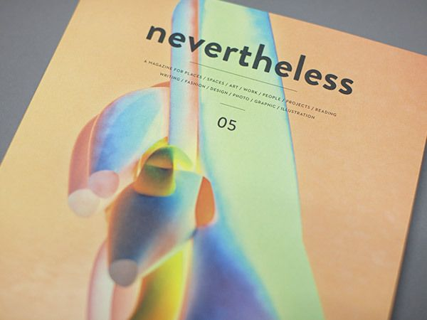 Nevertheless 05 | MagSpreads | Magazine Layout Inspiration and Editorial Design