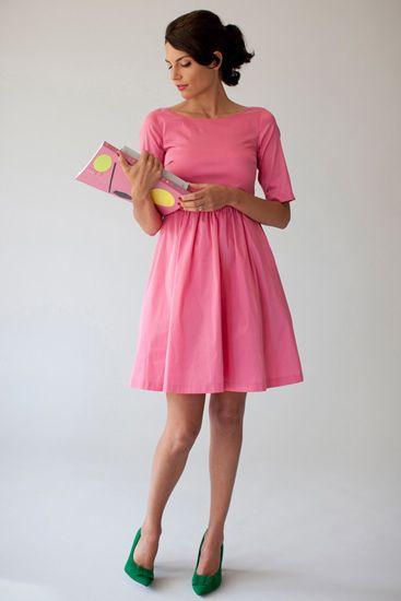 Dress Maria in pink
