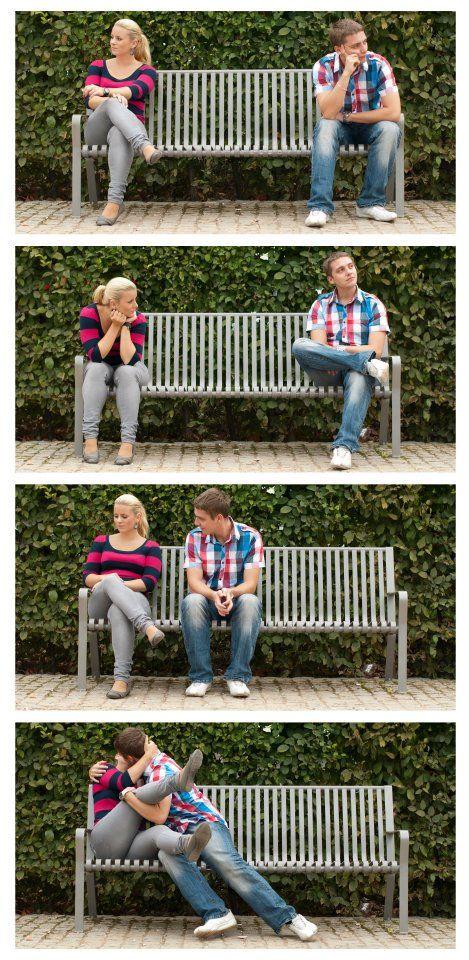 Ideas para fotos de namorados ;)