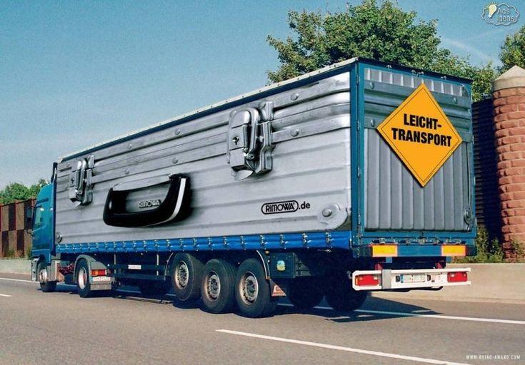 Rimowa Truck Graphics