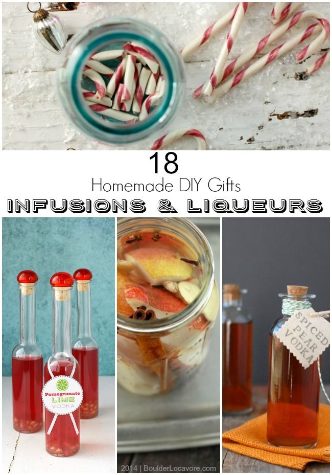 Better to make yourself! DIY Pomegranate Lime Vodka & 17 Homemade Infusions and Liqueurs {DIY gift ideas}