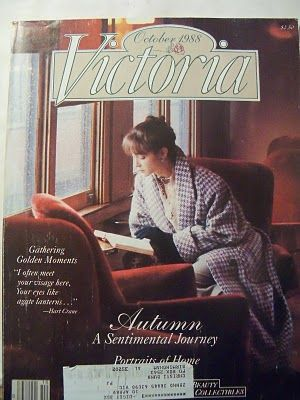 Victoria Magazine VOL 2 Issue 6 Oct 1988 ~ Autumn, A Sentimental Journey