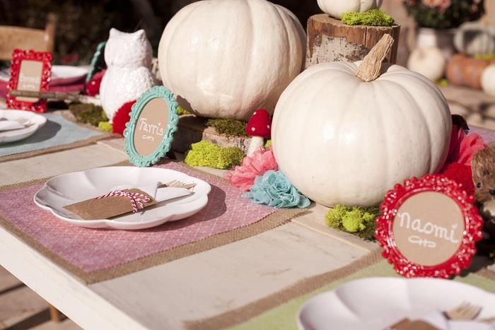owl party supplies | Woodland Owl Party with So Many Darling Ideas via Kara's Party Ideas ...