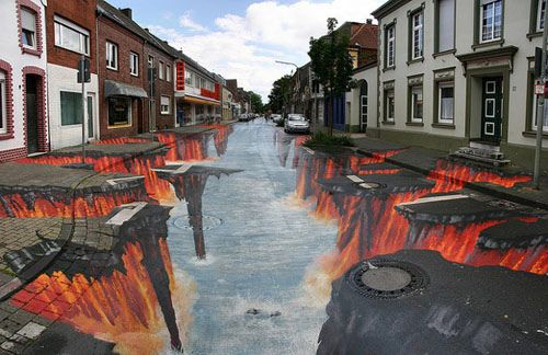 Road Art…