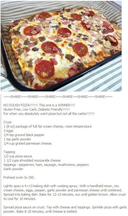 No Dough Pizza - I'm thinking of making this in cupcake pans and freeze. Properly frozen could last maybe couple of weeks?