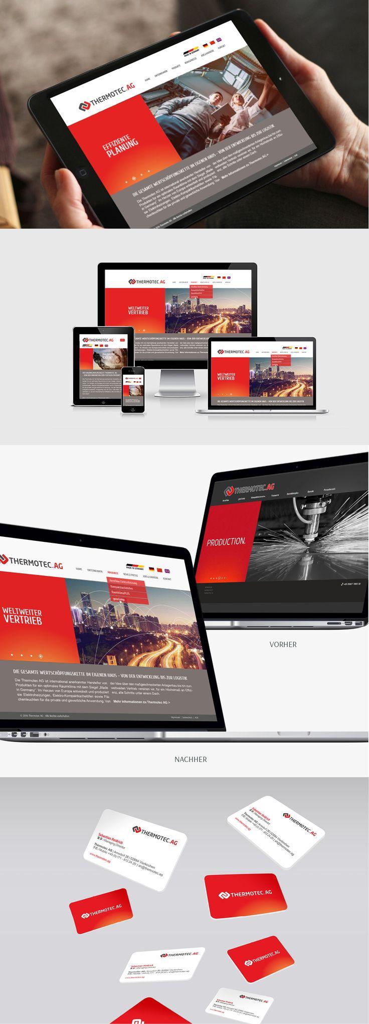 Zitronengrau Leipzig Webdesign Redesign Thermotec AG