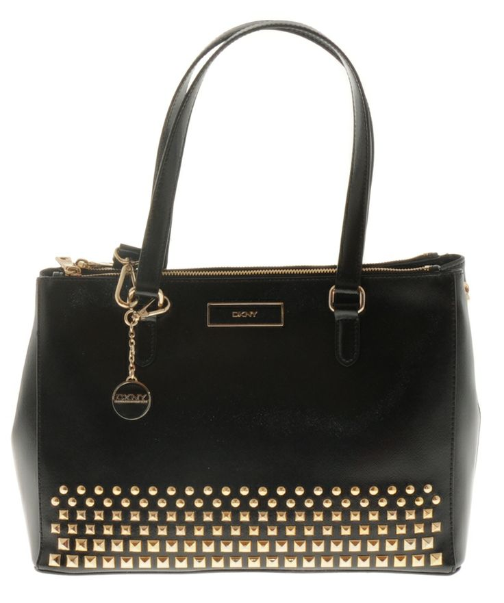 DKNY Chain-Strap Leather Bag