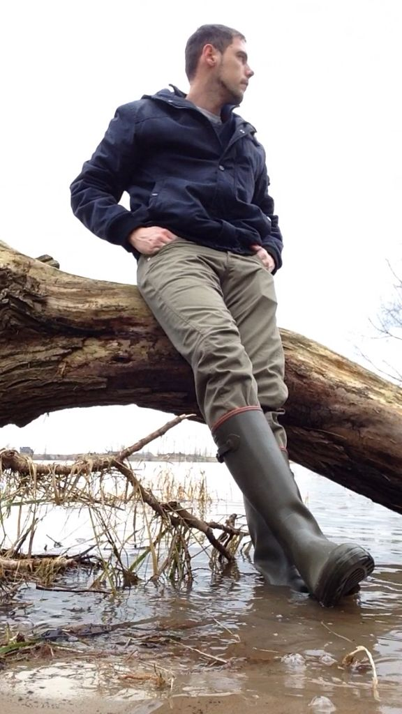 Aigle wellies are great too