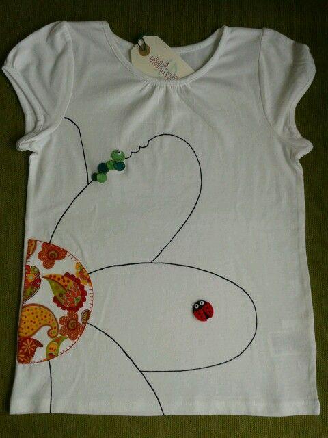 Camiseta flor Candela