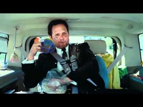 My favorite.  Dean Winters Mayhem Allstate Ad The Screaming Kid in the Back Seat